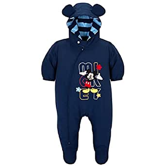 Mickey Mouse Infant Boys Hooded Snowsuit (6-12Mos)