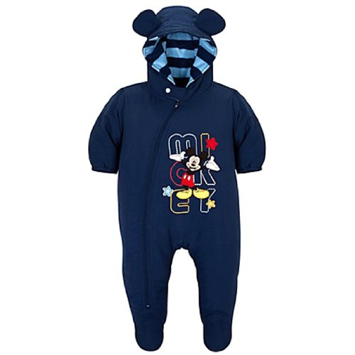Mickey Mouse Infant Boys Hooded Snowsuit