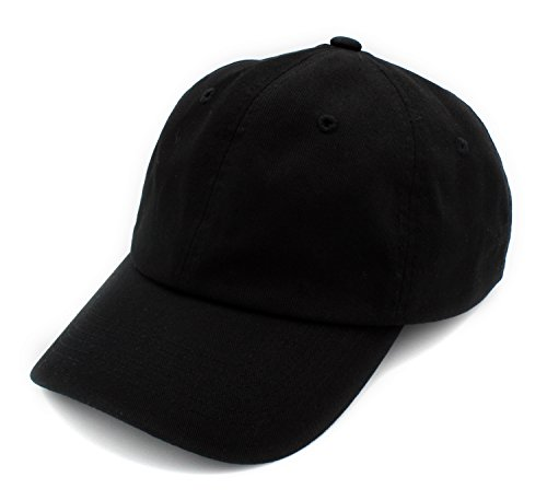 BRAND NEW 2016 Classic Plain Baseball Cap Unisex Cotton Hat For Men & Women Adjustable & Unstructured For Max Comfort Low Profile Polo Style  Unique & Timeless Clothing Accessories (Soft Baseball Cap)