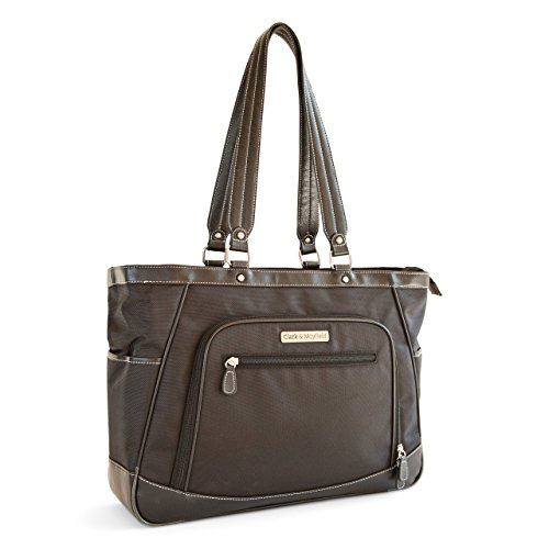 Clark & Mayfield Sellwood XL Laptop Tote 17.3'' (Black) by Clark & Mayfield