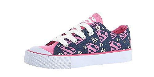 Dc Comics Supergirl Womens Sneaker