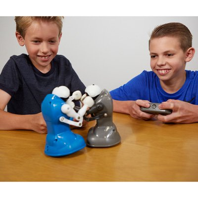 Boxing Fighter Robots Toy - RC Glow-in-the-Dark Robot Smashers