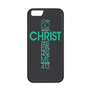 """Christian,Bible Verses Quotes Custom Cover Case for Iphone6 Plus 5.5"""",diy phone case ygtg-767105"""