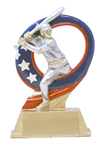 Decade Awards ⚾ Baseball Superstar Trophy ⚾ MVP Award | 6.5 Inch Tall - Free Engraved Plate on Request