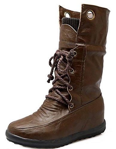 Army Shoes Up Boots Aisun Green Lace Women's Top Fashion Medium qa4wOU8