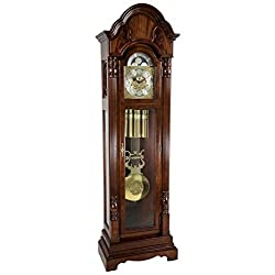 Hermle 010994N91161 Triple Chiming Brookfield Grandfather Clock - Cherry