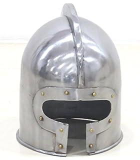 e3959e8f711 Amazon.com  Norman Nasal Helmet Wearable - Medieval Armor Metallic ...
