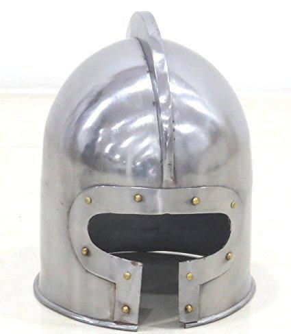 NAUTICALMART T Face Barbuta Helmet LARP Reenactment Medieval Weaponry ()