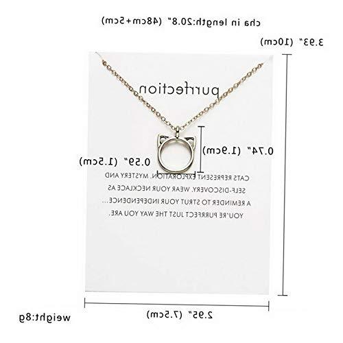Kaputar Women Fashion Simple Animal Pendant Necklace Chain Charm Collar Jewelry Gift New | Model NCKLCS - 17927 | ()