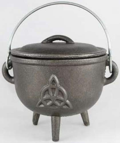 Cast Iron Cauldron: 4 1/2