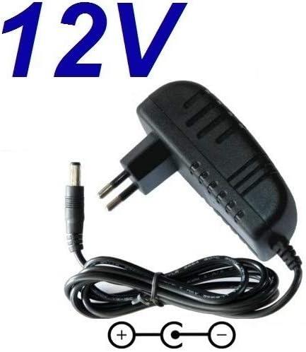 Cargador Corriente 12V Reemplazo Teclado Roland E-16 E16 E 16 Recambio Replacement