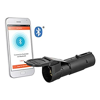 Image of Brake Controls CURT 51180 Echo Mobile Electric Trailer Brake Controller with Bluetooth-Enabled Smartphone Connection, Proportional