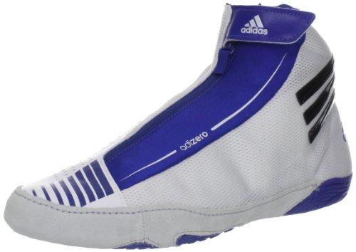Adidas Brottning Mens Adizero Sydney Sko Kör Vit / Svart / Royal