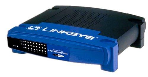 Cisco-Linksys  EZXS88W EtherFast 10/100 8-Port Workgroup Switch by Linksys