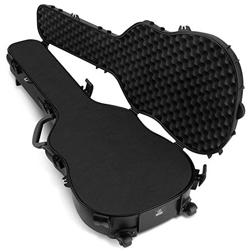 "Savior Equipment Tactical Discreet Rifle Carbine Shotgun Pistol Gun Carrier Ultimate Guitar Case - Fit Up to 45"" Firearm, Concealed Carry, Lockable Design"