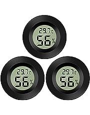Thlevel 3X Mini LCD digitale thermometer temperatuur vochtigheid tester hygrometer voor koelkast aquarium -50 °C ~ +70 °C (3 stuks B)