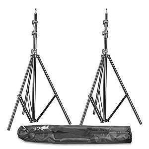 RetinaPix DIGITEK® (DLS-009 FTK) Lightweight & Portable 250 cm Aluminum Alloy Light Stand