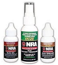 Mil-Comm Three-Step Gun Care Kit - NRA Licensed Gun Care System