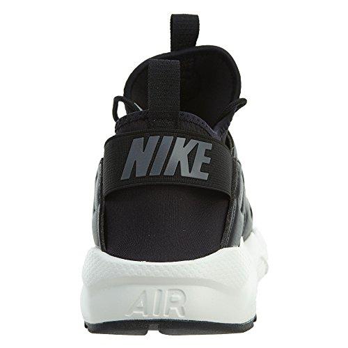 Nike Mens Air Huarache Correre Ultra Se Scarpa Da Corsa Nero / Grigio Scuro-vela-nero