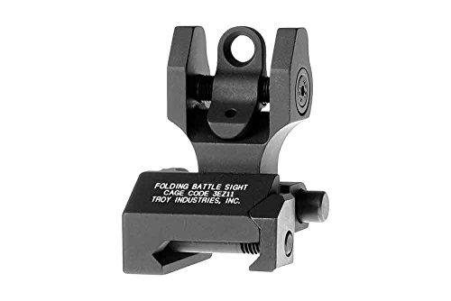 Troy Rear Sight - Troy Industries Folding Battle Sight Rear (Black)