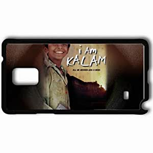 Personalized Samsung Note 4 Cell phone Case/Cover Skin Am kalam lydzv Black by lolosakes