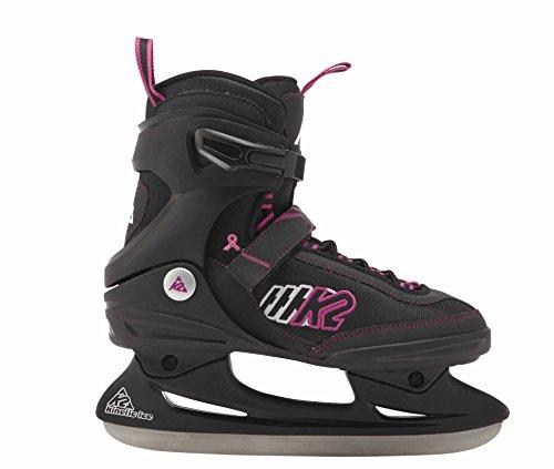 K2 Schlittschuhe Kinetic Ice W 2530802.1.1.095 Damen schwarz/pink Gr. 9,5