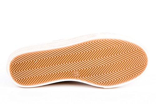 Däumling Kinderschuhe Sneaker Mädchen Reißverschluss Wildleder Braun Gr. 31