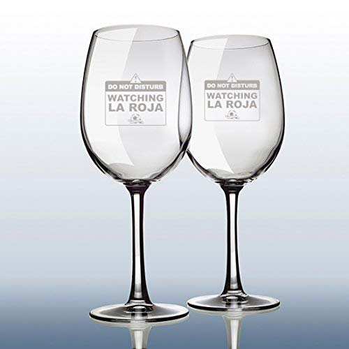 Calledelregalo Copas de Vino grabadas para brindar por La Roja en ...