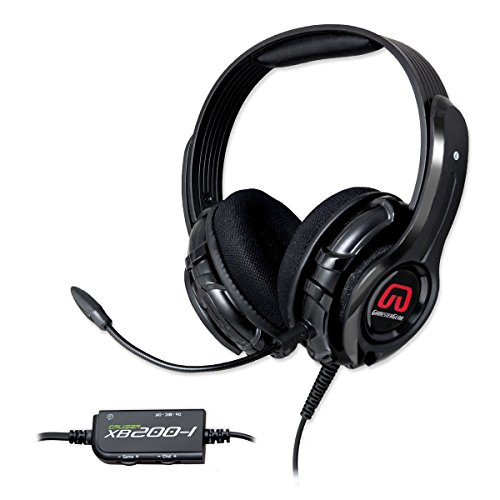 Syba XB200-I 57mm Speaker Driver Gaming Headset with Detachable Microphone - Xbox 360