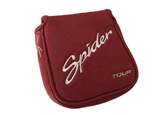 Spider New Custom Daddy Long Legs Red Mallet Putter Headcover