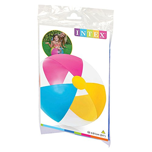 Intex 24 Inflatable Paradise Panel Colorful Beach Ball - (Set of 2) | 59032EP