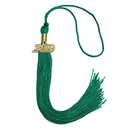 Single Color Graduation Tassel (Emerald Green)