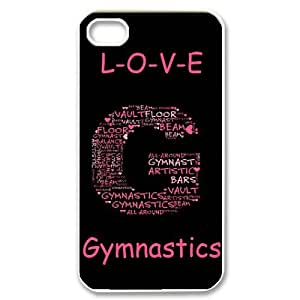 Fashion Gymnastics Personalized iPhone 5 5s Hard Case Cover -CCINO