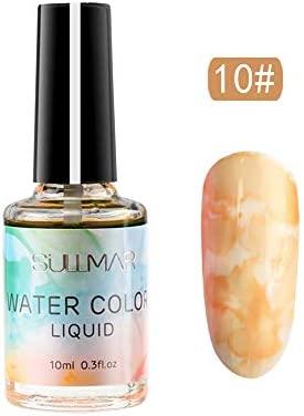 Fototerapia esmalte de uñas Leedy en mármol con diseño tinta ...