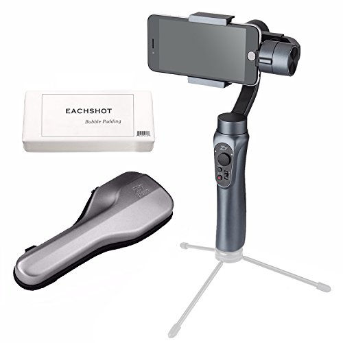Zhiyun Smooth-Q 3-Axis Handheld Gimbal Stabilizer for Smartphone Like iPhone X 8+ 7 Plus 6 Plus Samsung Galaxy S8+ S8 Note S7 S6 S5 Wireless Control Vertical Shooting Panorama Mode (Smooth Q Grey) from Zhiyun