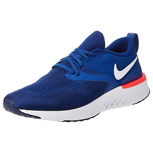 Nike Men's Indigo Force & White, Blue Void & Red Orbit Running Shoe – 6 UK