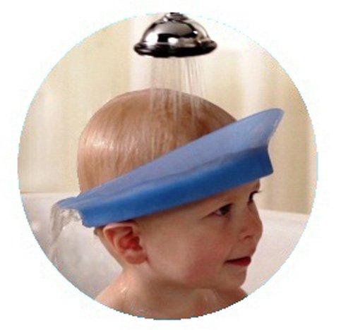 Amazon Kair Air Cushioned Bath Visor Blue Hair Baby