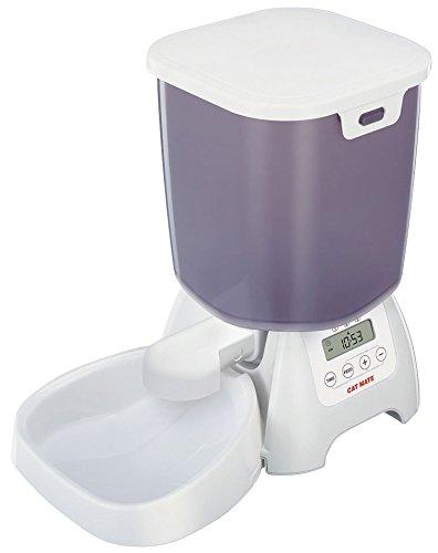 Pet Mate C3000 Trockenfutter-Automat, 3 kg Füllmenge