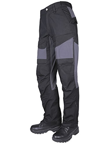 Tru-Spec Men's 24-7 Xpedition Pants, Black/Charcoal, W: 34 Large: 34 (Big Bear Sporting Goods)