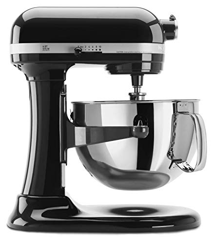 - KitchenAid KP26M1XOB 6 Qt. Professional 600 Series Bowl-Lift Stand Mixer - Onyx Black