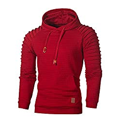 Men's Hooded Pullover Sweatshirt