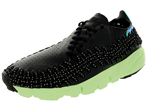 NIKE Air Footscape Woven Motion City QS Shanghai Men Sneakers Black/Green 669515-060 (SIZE: 11)
