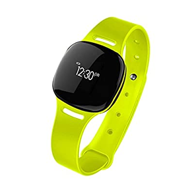 Health o meter nuyu Wireless Activity Tracker + Sleep Monitor with 3 Bonus Color Accessory Bands, Swim Resistant