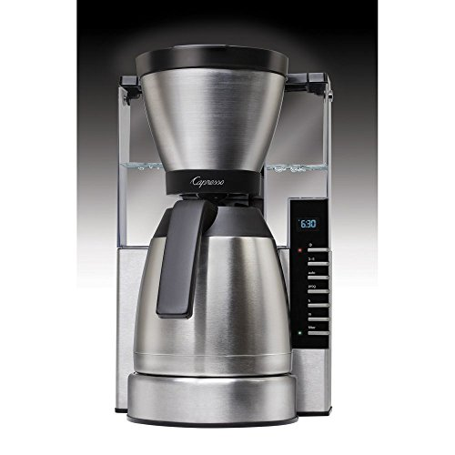 Capresso 498.05 MT900 Rapid Brew Coffee Maker, Stainless ...