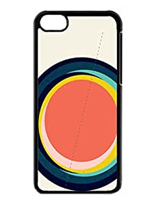 Abstract Case - Future Globes 003 Hard Shell cover for iphone 5c case