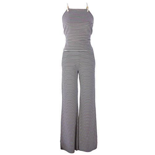 Sfilata by Max Mara Women's Cesena Striped Trouser Jumpsu...