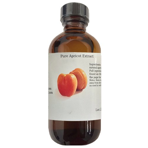OliveNation Pure Apricot Extract - Adds Delicious Apricot Flavor to Recipes - Size of 8 (Apricot Cake Recipe)