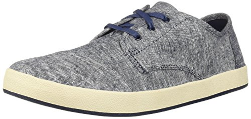 aker, Navy slub Chambray, 10 Medium US ()