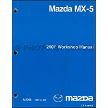 2007 Mazda MX-5 Miata Repair Shop Manual Original