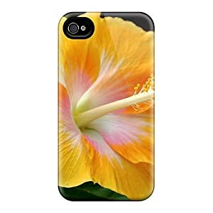 Back Cases Covers For Iphone 6 - Yellow Hibiscus
